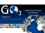 Global Ozone Project Curriculum