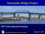 Kosciuszko Bridge Project
