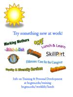 Try something new at work! Info on Training & Personal Development  at hr.gmu/training