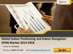 Global Indoor Positioning and Indoor Navigation Market 2014
