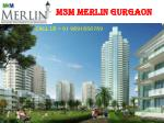 M3M Merlin New Luxury Apartments Sector 67 Gurgaon
