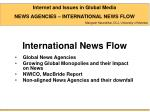 International News Flow