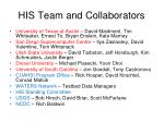HIS Team and Collaborators