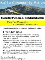 Monday, May 4 th at 6:05 p.m. – Butte High School Gym