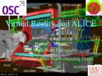 Virtual Reality and ALICE