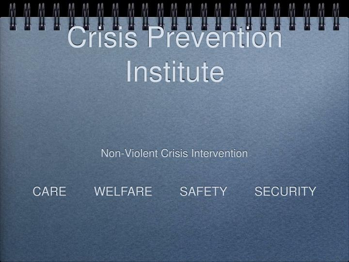 crisis prevention institute n.