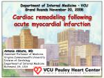 Department of Internal Medicine – VCU Grand Rounds November 20, 2008