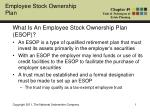 What Is An Employee Stock Ownership Plan (ESOP)?