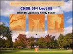 CHBE 594 Lect 09