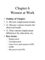 Chapter 6 Women at Work