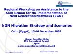 Regional Workshop on Assistance to the Arab Region for the implementation of