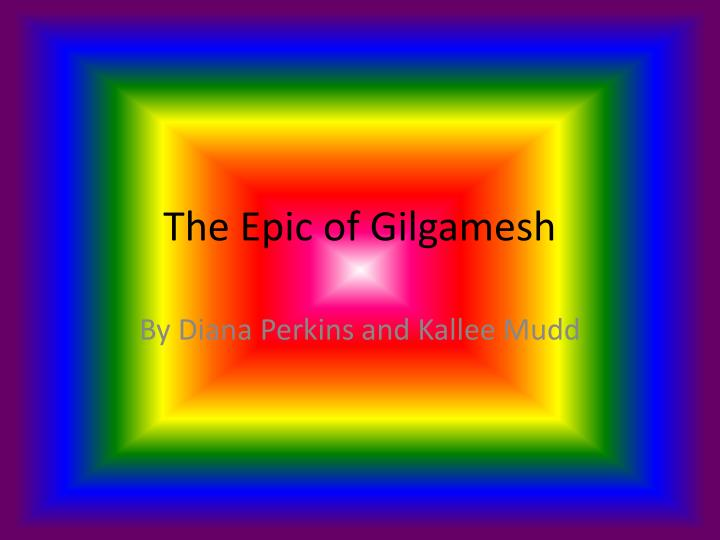 the epic of gilgamesh n.