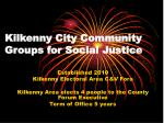 Kilkenny City Community Groups for Social Justice