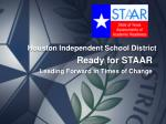 Ready for STAAR Leading Forward in Times of Change