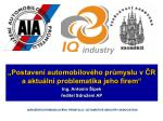 """KONFERENCE """" IQ Industry"""""""