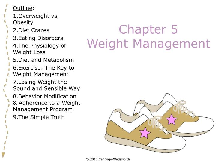 chapter 5 weight management n.