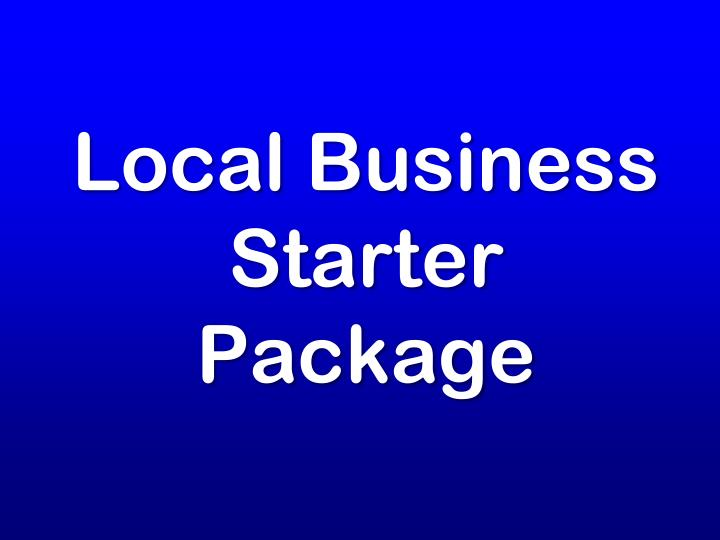 local business starter package n.
