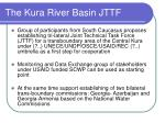 The Kura River Basin JTTF