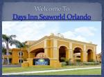 Days Inn Seaworld Orlando