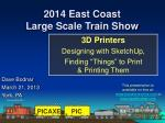2014 East Coast Large Scale Train Show
