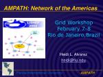AMPATH: Network of the Americas