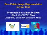 The Importance of Publicity & How It Affects Your Rotary Club