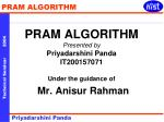 Study of the algorithms for parallel     machines  Many applications in day to day life
