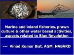 What is Fisheries,  Basic statistics, Blue revolution?