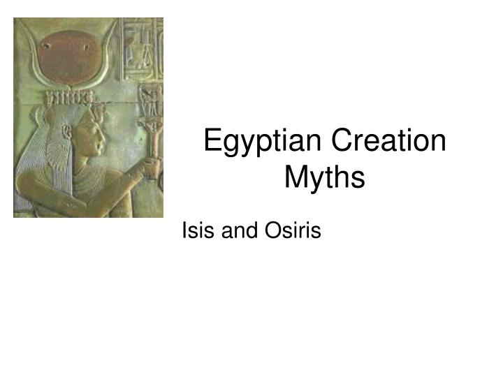 egyptian creation myths n.