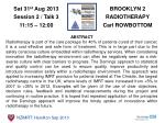 BROOKLYN 2 RADIOTHERAPY Carl ROWBOTTOM