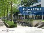 Project TESLA Kick-off Meeting Pilot Actions 9, 10 and 11