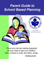 Parent Guide to School Based Planning