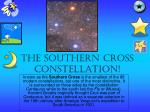 The Southern Cross Constellation!