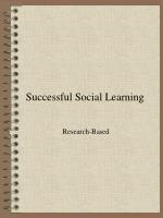 Successful Social Learning