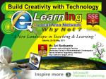 Build Creativity with Technology