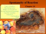 Spontaneity of Reaction