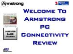 Welcome To Armstrong PC Connectivity Review