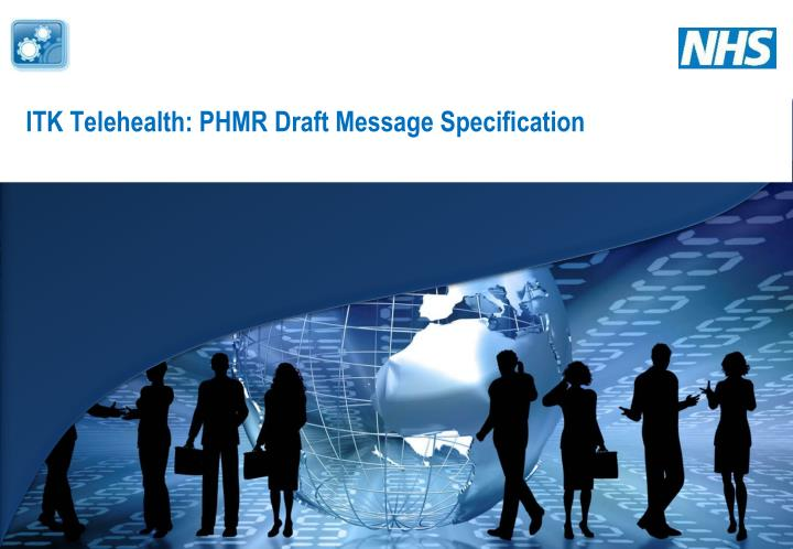 itk telehealth phmr draft message specification n.