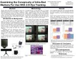 Examining the Conspicuity of Infra-Red Markers For Use With 2-D Eye Tracking