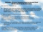 EUCAARI - European Integrated project on Aerosol Cloud Climate and Air Quality interactions