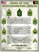 CREED OF THE  NONCOMISSIONED OFFICER