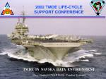 2002 TMDE LIFE-CYCLE SUPPORT CONFERENCE