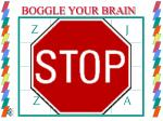 BOGGLE YOUR BRAIN