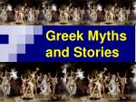 Greek Myths and Stories