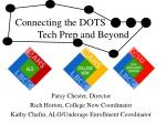Connecting the DOTS        Tech Prep and Beyond