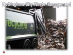 Nottingham City Waste Management