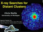 X-ray Searches for Distant Clusters