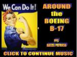 AROUND the BOEING B-17