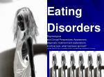 Eating Disorders Psychological and Clinical Perspectives: Assessment,