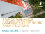 EMF compliance assessment of radio base stations